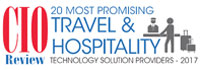 Top 20 Travel & Hospitality Technology Solution Companies - 2017