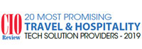 Top 20 Travel And Hospitality Solution Companies - 2019